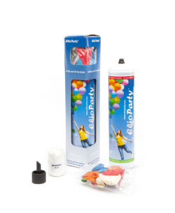 Kit completo ElioWorld® Piccolo da 1 kg con 10 palloncini