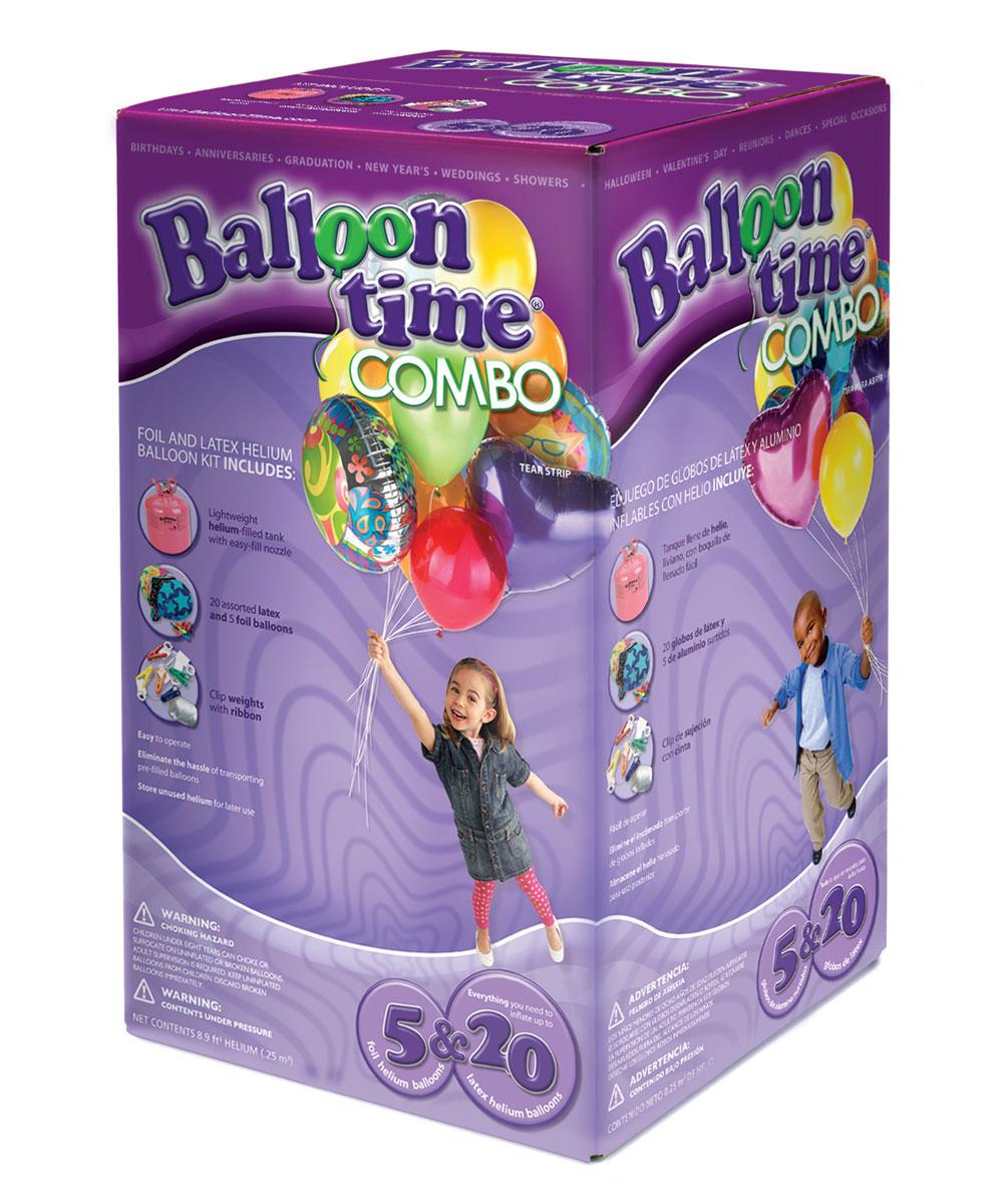 "kit ElioWorld® da 20 Palloncini + 5 palloncini GIGANTI ""FOIL"""