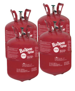 4 Bombole Kit ElioWorld® Grandi da 5,2 kg senza Palloncini