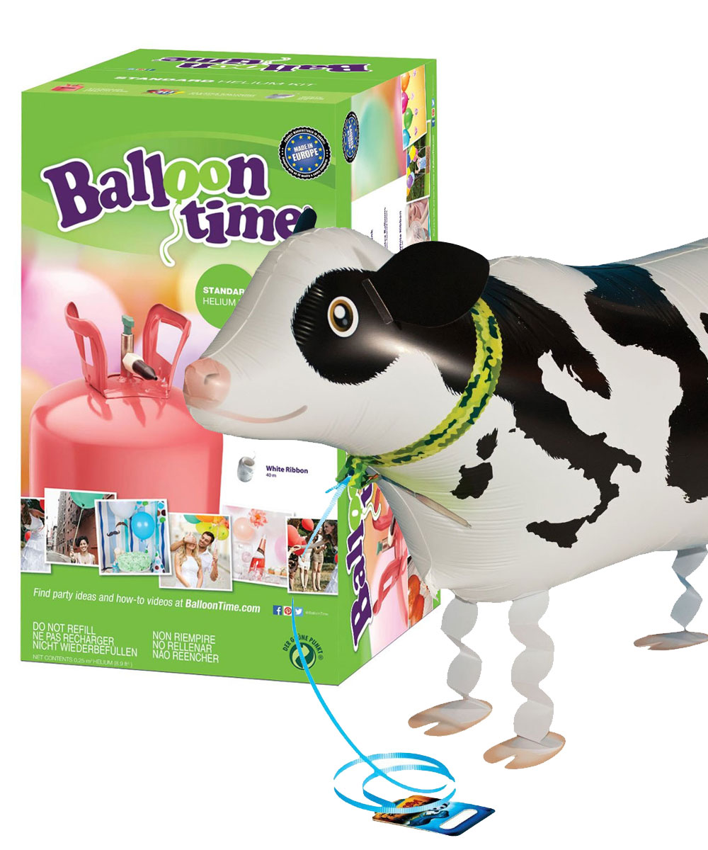 "Kit ElioWorld® da 30 Palloncini GIGANTI ""ANIMALI DELLO ZOO"""