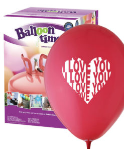 Kit ElioWorld® da 50 Palloncini I LOVE YOU