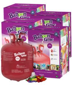 kit Elioworld 4 bombole + 200 palloncini e nastrini