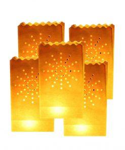 5 Sacchetti porta candele - Candle Bags FireWorks